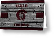 University Of Arkansas At Little Rock Trojans Greeting Card