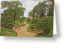 University Of North Alabama Campus Greeting Card