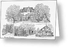 University Of Pennsylvania Greeting Card