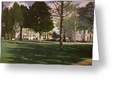 University Of South Carolina Horseshoe 1984 Greeting Card