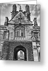 University Of Sydney-black And White V4 Greeting Card