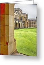 University Of Sydney Quadrangle V2 Greeting Card