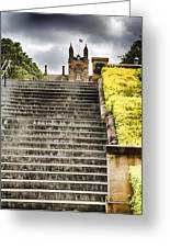 University Of Sydney Steps Greeting Card