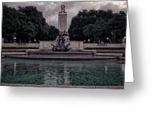 University Of Texas Icons Greeting Card