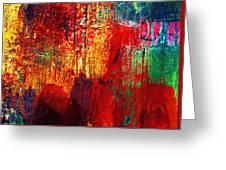 Untamed Colors  Greeting Card by Prakash Ghai