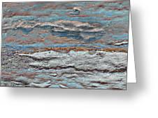Untamed Sea 1 Greeting Card by Carol Cavalaris