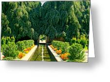 Untermyer Gardens And Park Greeting Card