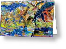 Untitled Abstract #2 Greeting Card