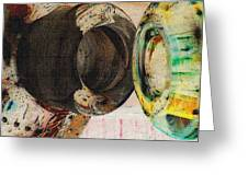 Untitled Abstract No.3 Greeting Card