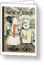 New Yorker May 27th, 2013 Greeting Card