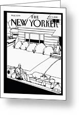 New Yorker May 3rd, 2010 Greeting Card