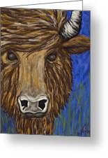 Untitled Buffalo 1 Greeting Card