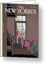 New Yorker January 7th, 2013 Greeting Card