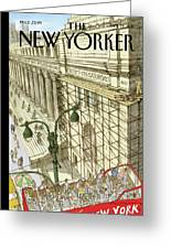 New Yorker September 19th, 2011 Greeting Card