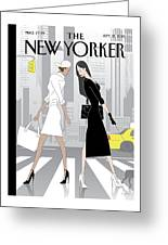New Yorker September 21st, 2015 Greeting Card