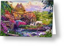 Light Palace Greeting Card