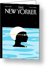 New Yorker August 4th, 2008 Greeting Card