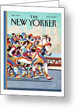 New Yorker November 8th, 2010 Greeting Card