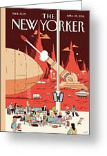 New Yorker April 22nd, 2013 Greeting Card