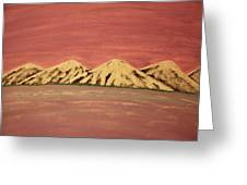 Untitled Mountains Greeting Card