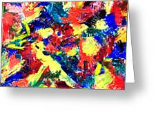Untitled Number Nineteen Greeting Card