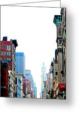 Untitled Nyc Greeting Card