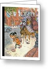 New Yorker September 13th, 2010 Greeting Card