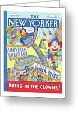 New Yorker September 24th, 2012 Greeting Card