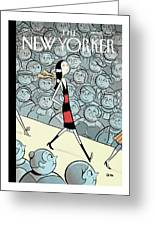 New Yorker March 20th, 2006 Greeting Card