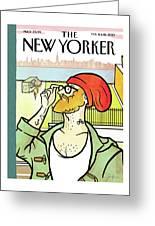Brooklyn's Eustace Greeting Card