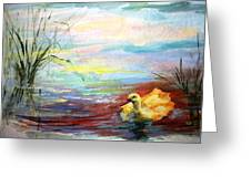 Untitled Watercolor       Greeting Card
