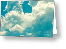 The Kiss Of The Clouds Greeting Card