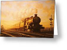 Up Express To Paddington Greeting Card