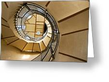 Up The Staircase Greeting Card