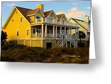Up The Stairs At Isle Of Palms Greeting Card