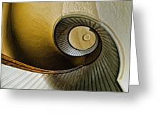 Up The Stairway Greeting Card