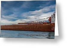 Upbound At Mission Point 2 Greeting Card