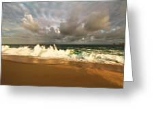 Upcoming Tropical Storm Greeting Card