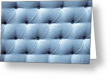 Upholstery Background Greeting Card