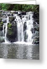 Upper Beaver Falls Greeting Card