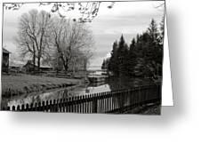 Upper Canada Village Greeting Card