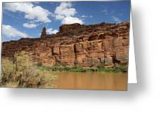 Upper Colorado River View Greeting Card