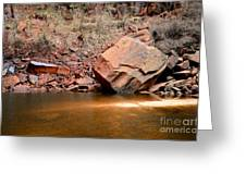 Upper Emerald Pools At Zion National Park Greeting Card