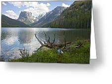 Upper Green River Lake Greeting Card