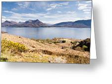Upper Loch Torridon Greeting Card