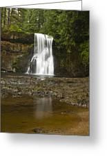 Upper North Silver Falls 2 Greeting Card