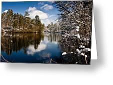 Upper Pond 2 Greeting Card