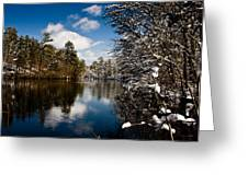 Upper Pond 3 Greeting Card