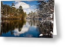 Upper Pond Greeting Card