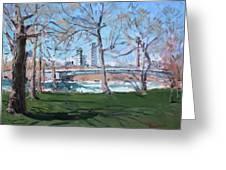 Upper Rapids Of Niagara Falls Ny Greeting Card